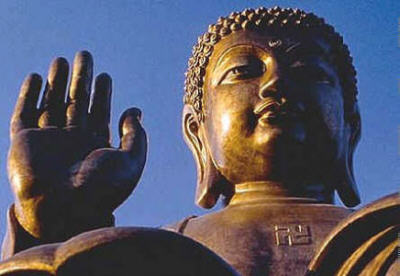swastika buddha