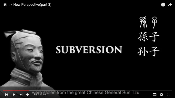 Sun Tzu subversion